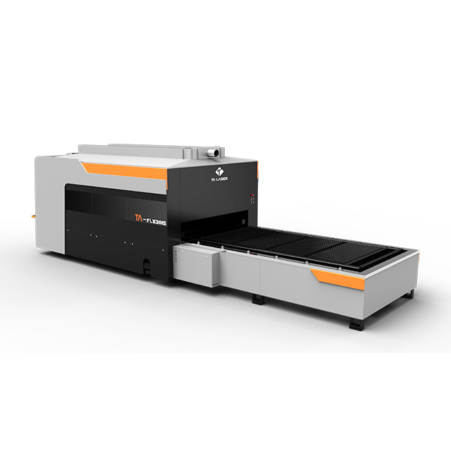 Closed Type Exchange Table Laser Cutting Machine