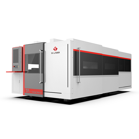 Closed Type Single Table Laser Cutting Machine
